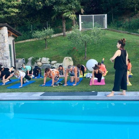 Yoga, Pilates e corsi